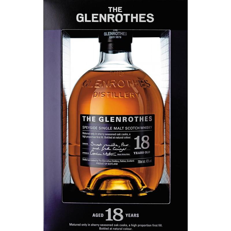 The Glenrothes 18 Year Old Singe Malt whisky